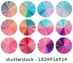 circular metallic gradient disk ...