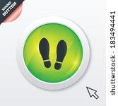 imprint soles shoes sign icon....