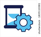 setting icon. setting with...   Shutterstock .eps vector #1835110381