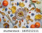 Autumn Still Life  Flat Lay....