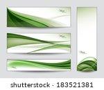 abstract banners. vector design.   Shutterstock .eps vector #183521381
