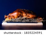 Close Up From A Roasted Goose...