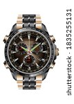 realistic clock watch...   Shutterstock .eps vector #1835255131