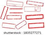 vector illustration stamp frame ... | Shutterstock .eps vector #1835277271
