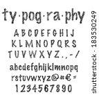 typography | Shutterstock .eps vector #183530249