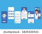 doctor vedio call app ui...