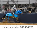 Knights Tournament. Horseman...
