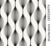 vector seamless pattern.... | Shutterstock .eps vector #183534974