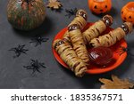 Spooky Sausage Mummies In Dough ...