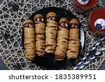 Spooky Sausage Mummies And...