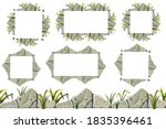 set of seamless constructor old ... | Shutterstock .eps vector #1835396461