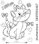 coloring book page for... | Shutterstock .eps vector #1835501467