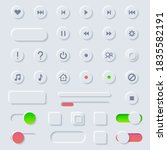 set abstract collection icons...