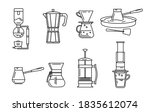 a set of accessories for... | Shutterstock .eps vector #1835612074