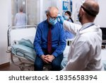 Doctor During Examination Of...