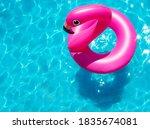 Inflatable Flamingo Buoy Swim...
