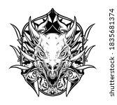 Tattoo And T Shirt Design Black ...