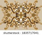 Golden Baroque And  Leopard...