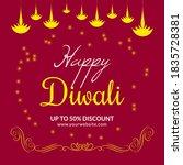 Happy Diwali Big Sale Social...