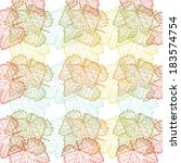 elegant seamless pattern with...   Shutterstock .eps vector #183574754