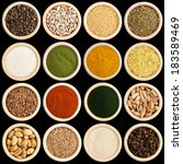 spices and herbs | Shutterstock . vector #183589469
