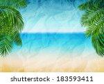 vector illustration panorama of ...   Shutterstock .eps vector #183593411