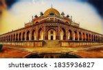 exquisite ancient humayun's...   Shutterstock .eps vector #1835936827