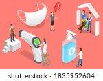 3d isometric flat vector... | Shutterstock .eps vector #1835952604