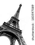 Tour Eiffel In Black And White...