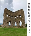 Small photo of Remains of the Roman Janus temple in Autun France