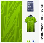 fabric pattern design. mosaic... | Shutterstock .eps vector #1836107731