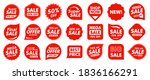 set of sale badges. sale... | Shutterstock .eps vector #1836166291