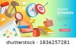 3d conceptual illustration of... | Shutterstock . vector #1836257281