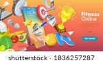 3d conceptual illustration of...   Shutterstock . vector #1836257287