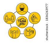 vector infographic sticker to...   Shutterstock .eps vector #1836263977