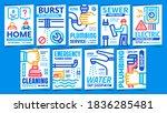 plumber service creative promo...   Shutterstock .eps vector #1836285481