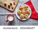 Strawberry Muffin Dessert In...