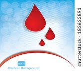 medical background .vector | Shutterstock .eps vector #183632891