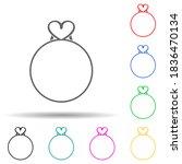 love circle multi color style...