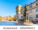 Statue Of Charles Iv With...