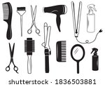 set of equipment for a... | Shutterstock .eps vector #1836503881