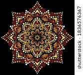 Mandala Pattern Color Stencil...