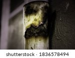 Corroded And Rusty Pipe In...