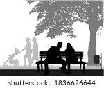 outdoor recreation  people...   Shutterstock . vector #1836626644