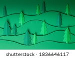 3d Pop Out Christmas Trees...