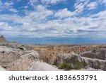 View Of Badlands National Park