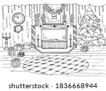 Coloring Book With Christmas...