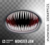 Raster Version. Spooky Monster...