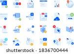 modern flat design business... | Shutterstock .eps vector #1836700444
