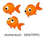 cartoon sea element  ... | Shutterstock . vector #183670991
